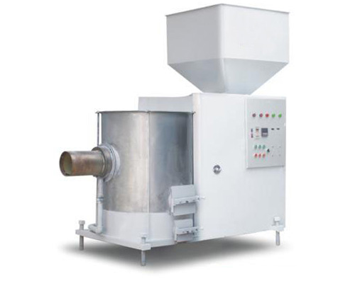 Biological particle combustion series drying machine