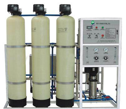 Ion exchange series pure water machine