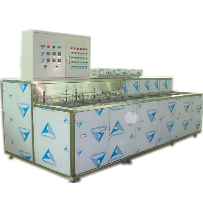 Ultrasonic cleaning and drying equipment for medical equipment accessories
